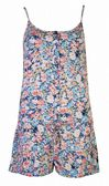 Womens Floral Playsuit